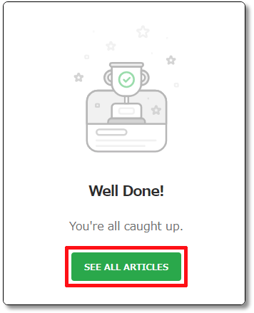 feedlyに登録したすべての記事を確認する