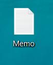 Memo保存