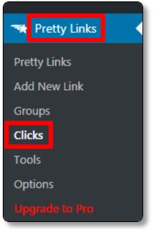 Pretty-LinksのClick